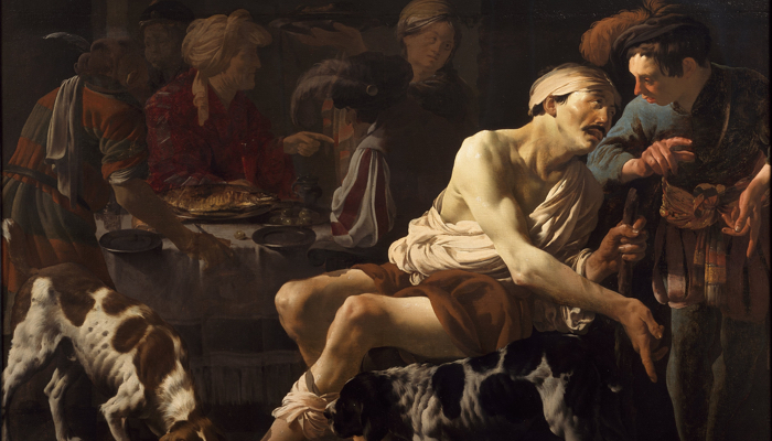 The Rich Man and the Poor Lazarus, Hendrick ter Brugghen (1625)