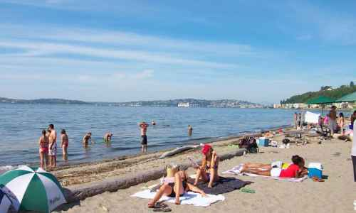 Alki Beach Seattle Washington