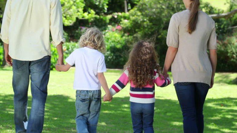 Family Walking Exercise