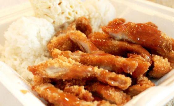 L&L Hawaiian BBQ Kona Hawaii
