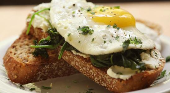 Spinach Eggs Weight Loss Breakfast