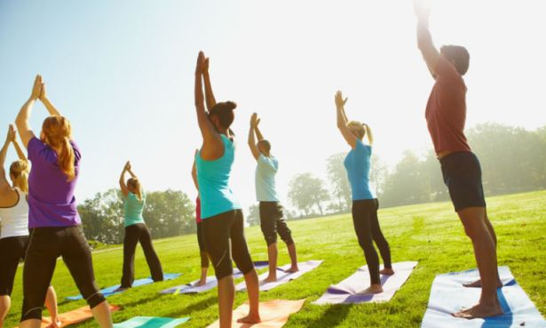 Yoga Outside Fitness