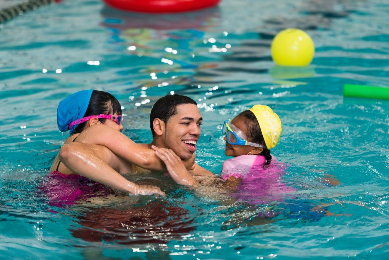 Family Swimming Fitness