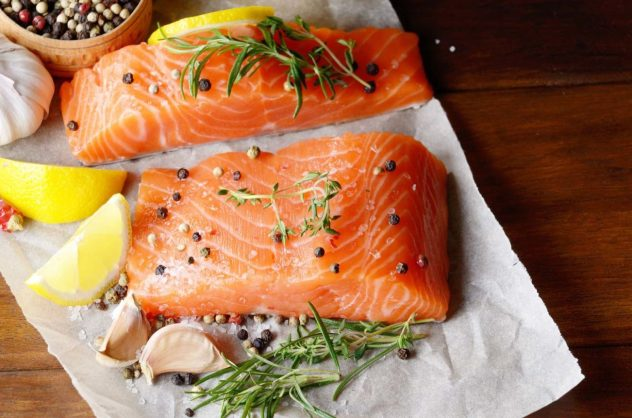 Salmon Protein Muscle