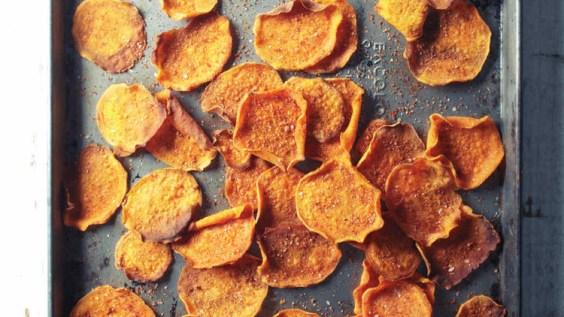 Paleo Sweet Potato Chips