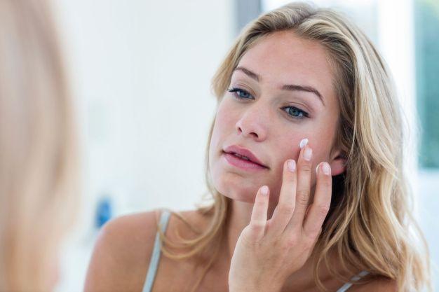 Apply Night Cream Skin Care