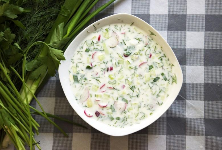 Okroshka Russian Soup