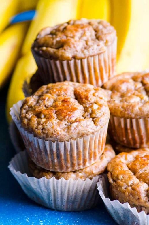 Banana nut muffins toddler