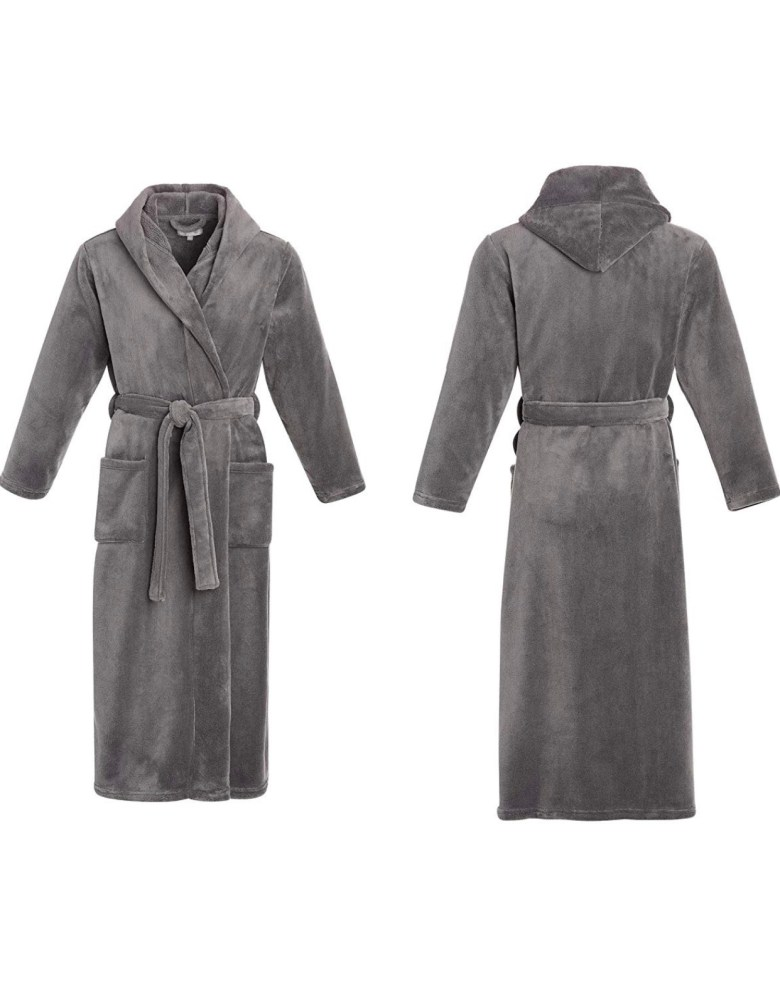 Men's plush robe