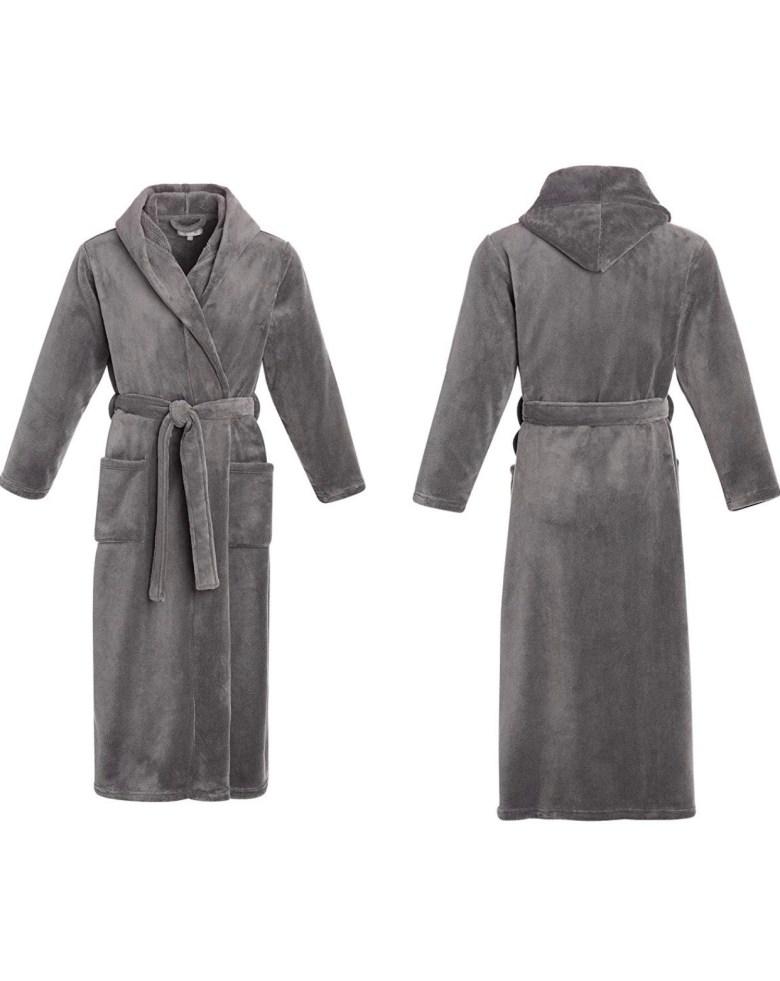 Men's plush robe