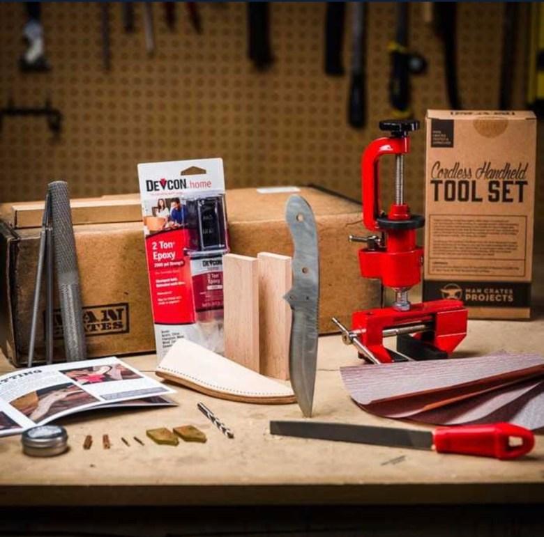 Mancrates knife making kit