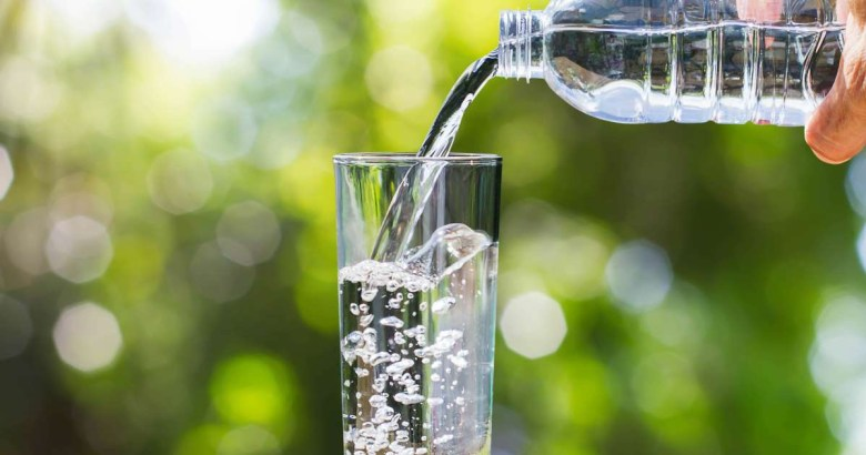 Drink hydrate water glowing skin