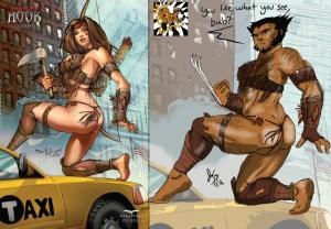 Hawkeye wolverine
