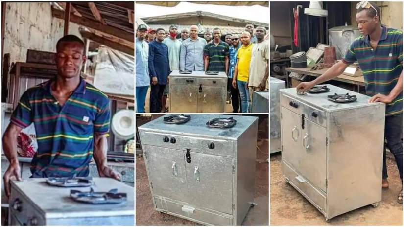 Federal University of Technology Student Builds Gas Cooker. thingscouplesdo.com