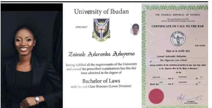University of Ibadan Law Graduate Cries out that She Desperately Needs a Job. Thingscouplesdo.com