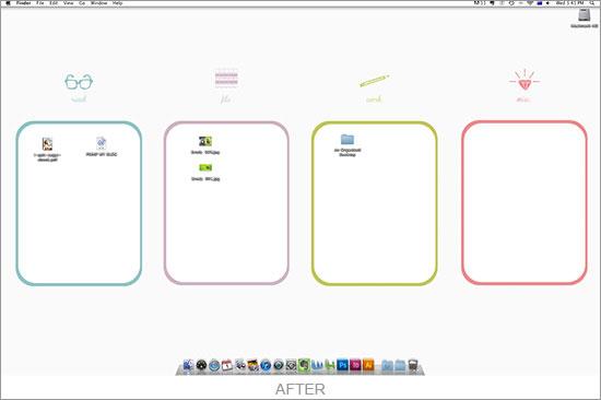 loving an organised desktop #thingsdeeloves 6