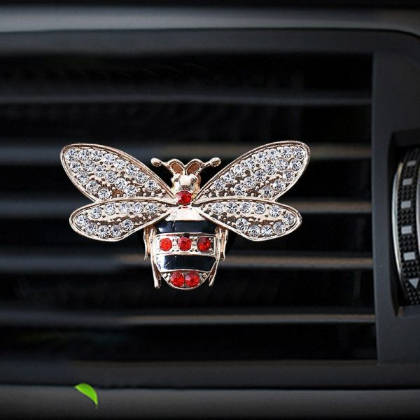 Gucci Inspired Bees Style Car Air Freshener Perfume Bottle