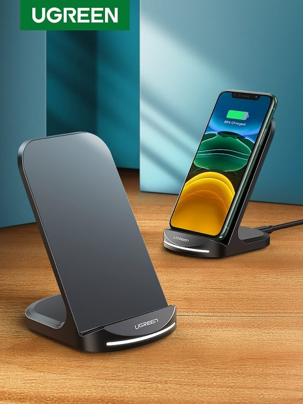 Wireless Charger Stand for iPhone 12 Pro X XS 8 XR