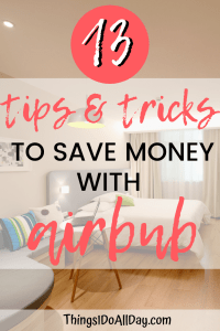 tips and tricks to save money with airbnb