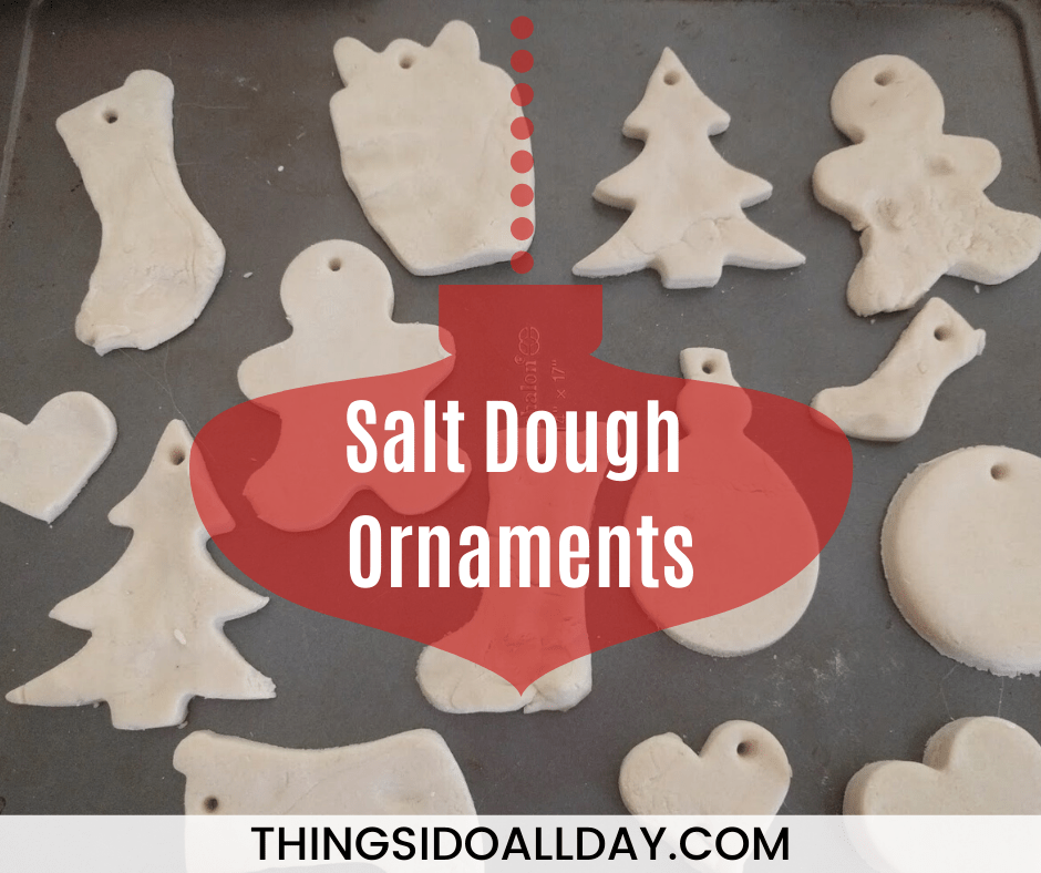 Easy Salt Dough Ornament Recipe with Kids