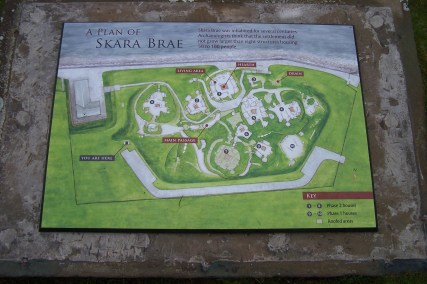 Skara Brae, Orkney, Scotland circa 3100 B.C.