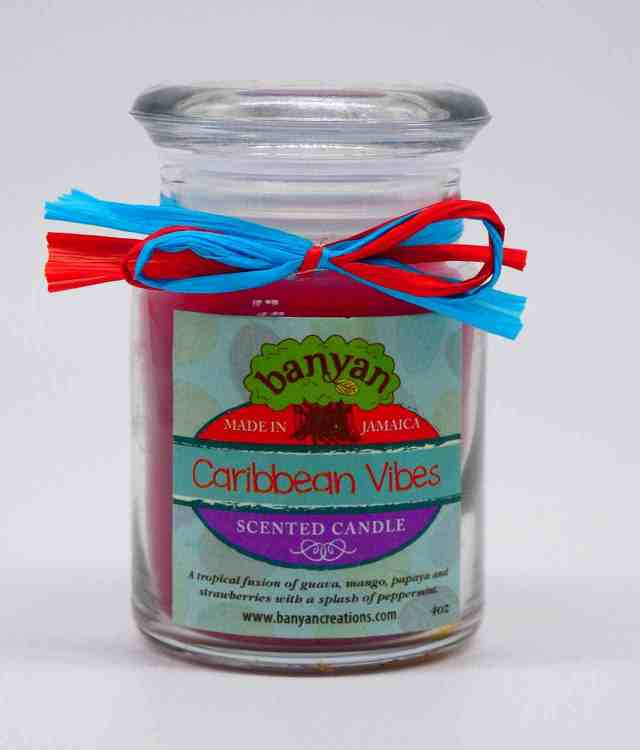 Glass Jar Candle 4oz- New