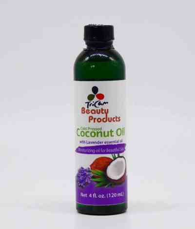 Coconut Oil and Lavender Essential oil 4oz