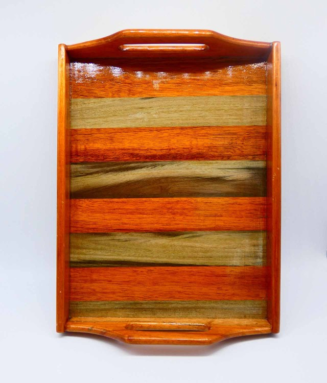 Wooden Tray  (1pc)- Super Functional – Shop Now!