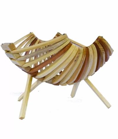 Wooden Fruit Baskets (1pc) - Best Picnic Companion - Buy Now!
