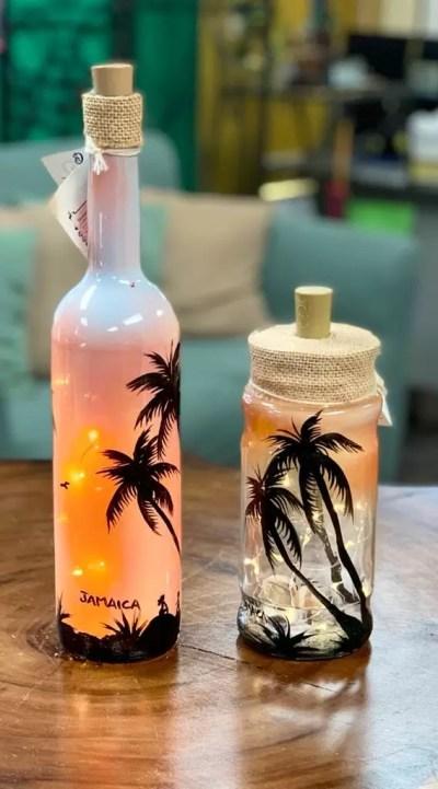 Bottle Lamps (1pc) - Best Decor Idea - Buy Now!