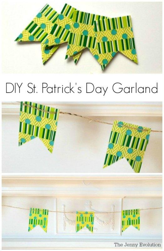 DIY-Saint-Patrick-Day-Garland