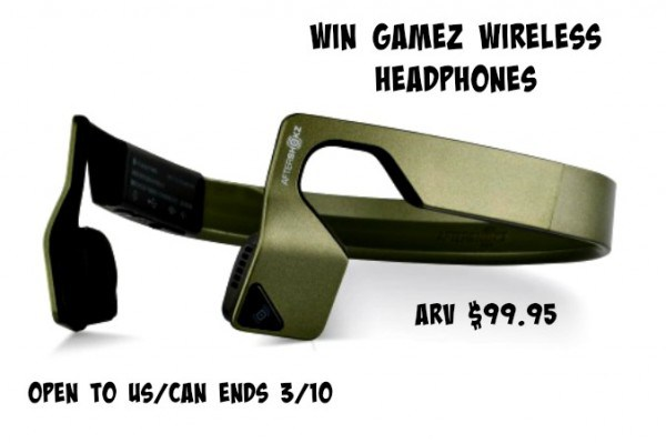 AfterShokz Games Wireless Headphones Giveaway