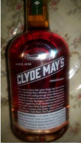 Clyde May Alabama Whiskey