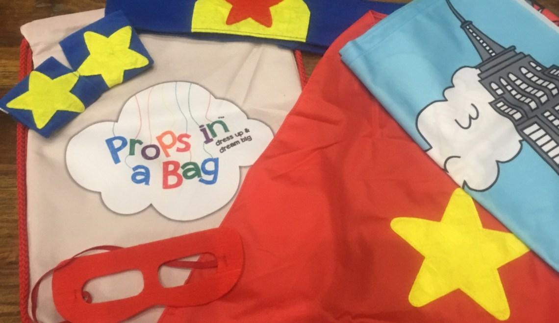 Super Hero Props in a Bag