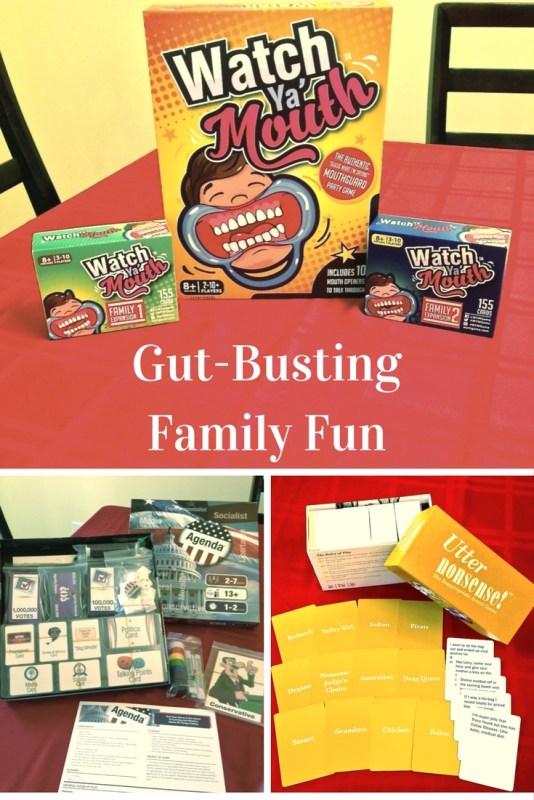 Gut Busting Family Fun - Watch Ya' Mouth-The Agenda-Utter Nonsense Games