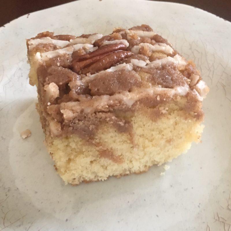 Crumbolicious Butter Pecan Crumb Cake