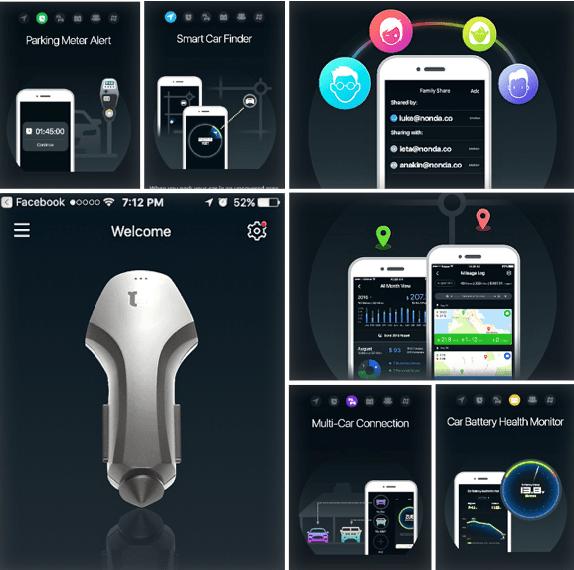 ZUS USB Smart Car Finder