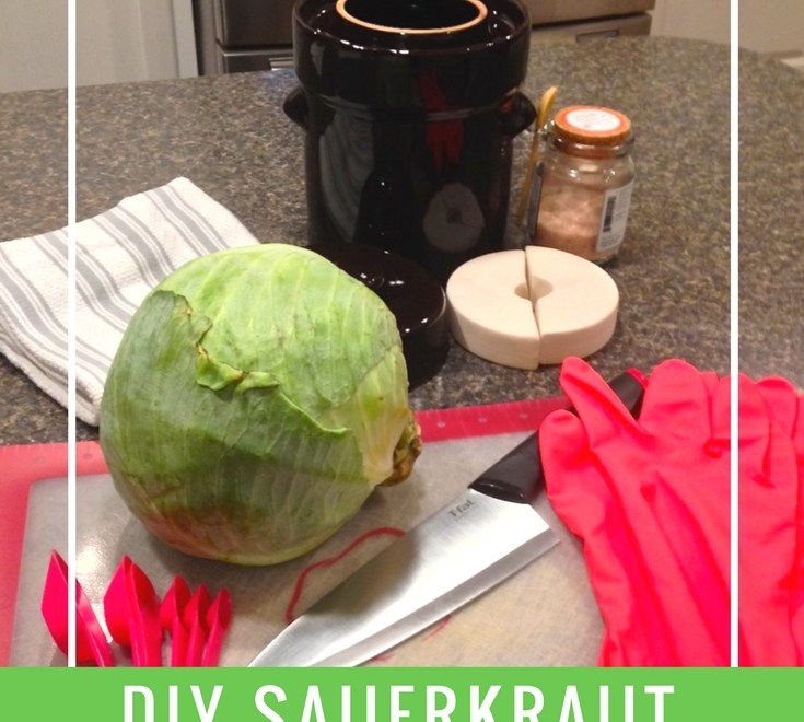DIY Sauerkraut With A Fermentation Crock