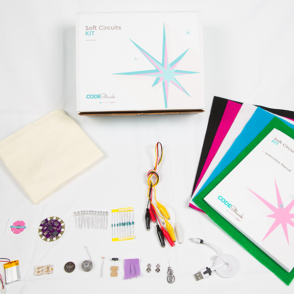 Holiday Gift for Girls- ChickTech's Soft Circuits Kit