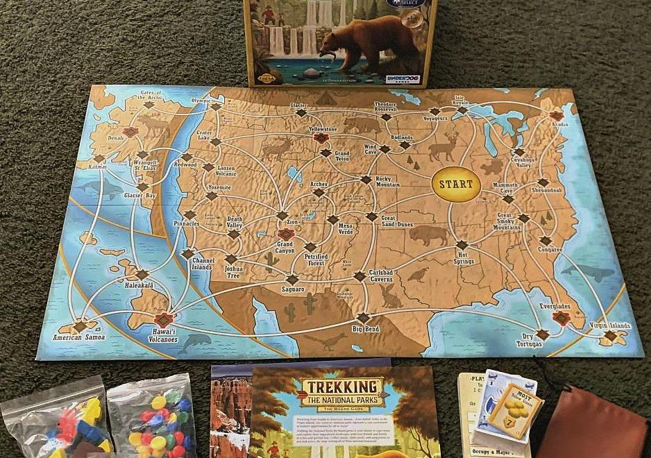 Become An Explorer Of National Parks Through A Fun, Exciting Game!