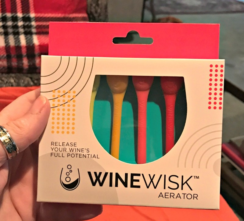 Happiness From A Wine Aerator