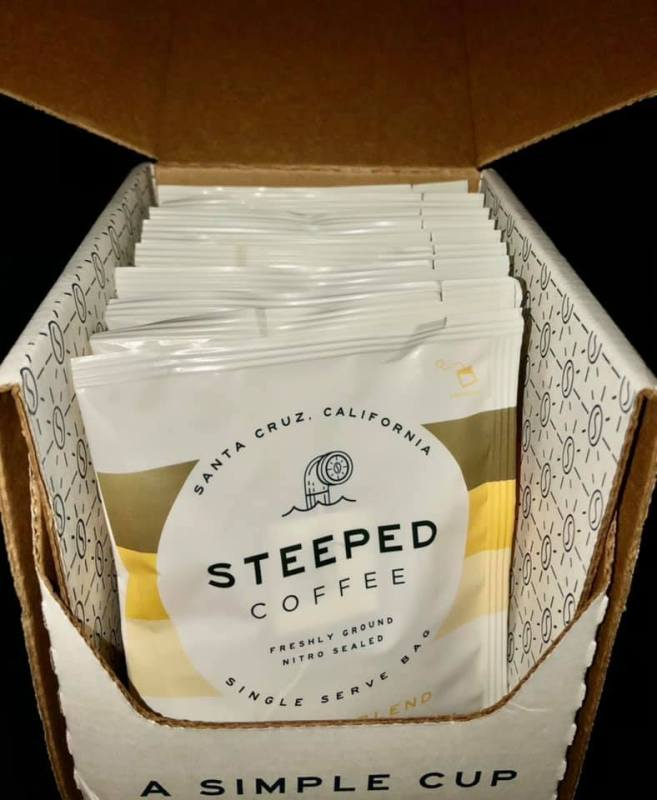 steeped coffee one