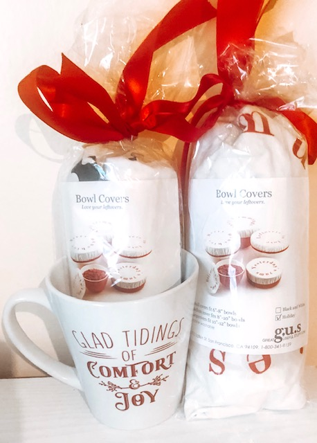 Holiday Bowl Covers & Ceramic Mugs - Gifts for Everyday Use