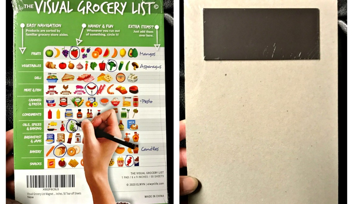 A Visual Grocery List?