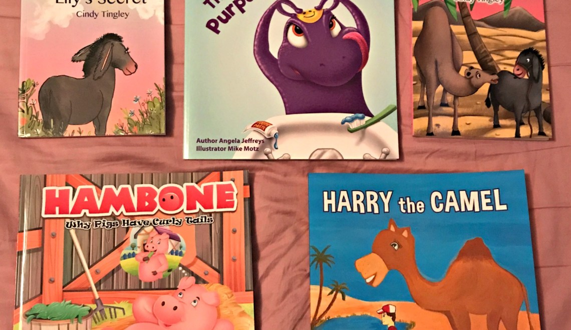 Kids Learning Lessons Through Books