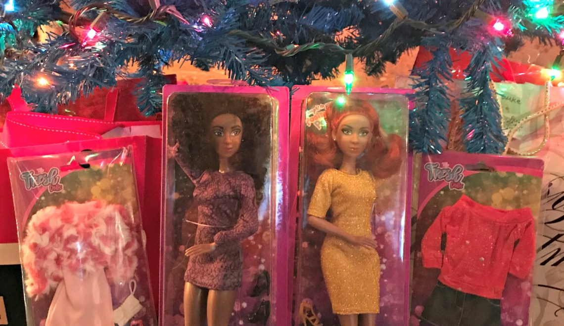 Mixed Race Of Dolls To Play With