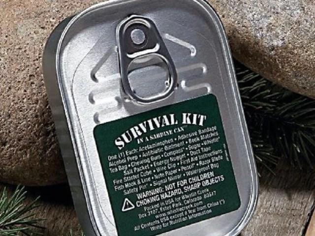 Sardine Can Survival Kit