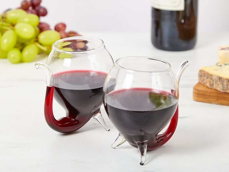 Wine sippy cups