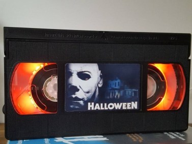 Horror VHS Lamps