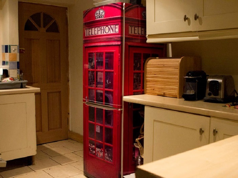 UK Telephone Box FridgeWrap